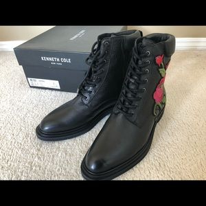 Kenneth Cole New York Aston 2 combat boots